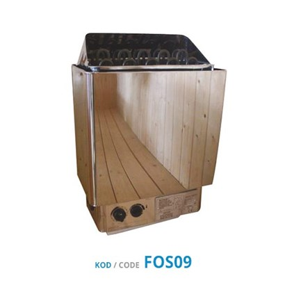 Sauna Heater - Stainless (SCA-BS Series) Internal Control Unit