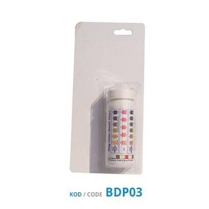 Oxygen Test Strips (CL/PH/BR 3 in 1)
