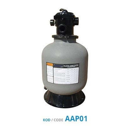 Top-Mount Plastic Sand Filters