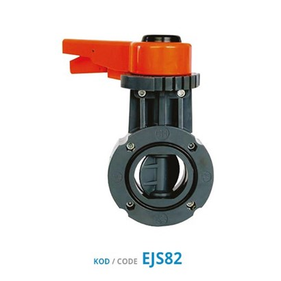 U-PVC Butterfly Valves (Handle Lever Type)