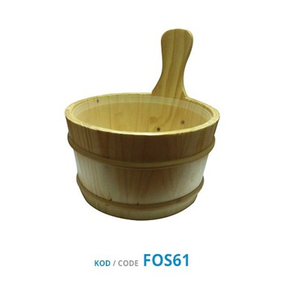 Sauna Bucket / Wooden