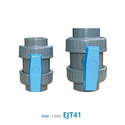 Pina U-PVC Double Union Ball Valve (Female Slip)