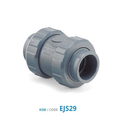 U-PVC Double Union Check Valves