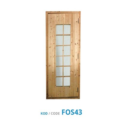 Sauna Door - Wooden