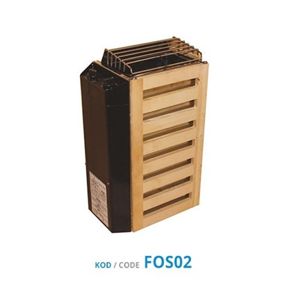 Sauna Heater - Mini (JM Series) Internally Controlled Unit