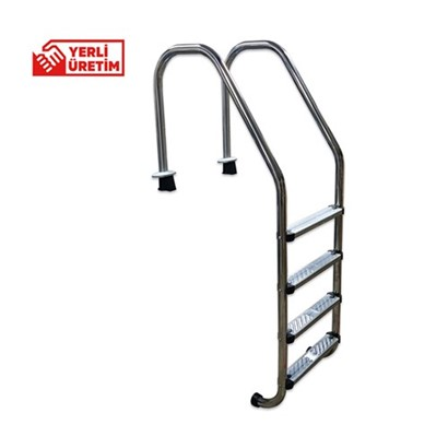 Wide Serie Stainless Steel Ladders